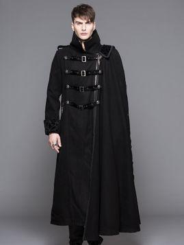 Manteau long gothique femme pas cher
