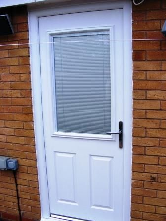 Internal Blinds In The Double Glazed Sealed Unit Of A Back Door Venetian Blinds Double Glazing Blinds