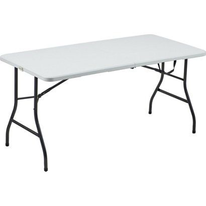 5 Ft Folding Table For Craft Room Folding Table Home Decor Table
