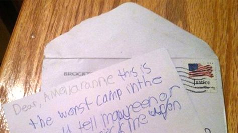Help Me You Gotta Love Kids Letters From Camp  Kids Letters