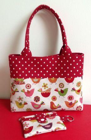 Aprende Hacer Bolsos De Tela Con Patrones In 2020 Homemade Bags Tote Bags Sewing Fabric Purses