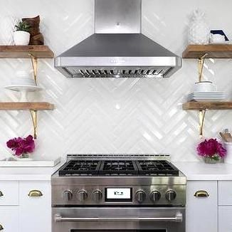 Large White Herringbone Kitchen Backsplash Tiles Design Ideas In 2020 Kitchen Tiles Backsplash Kitchen Backsplash Tile Designs Herringbone Tiles Kitchen