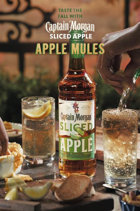 By Giving The Classic Ginger Beer Cocktail An All New Sliced Apple Twist We Re Making Sure The Leaves Aren T Th Video In 2020 Ginger Beer Cocktail Apple Slices Keto Recipes