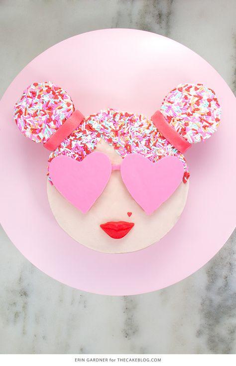 Sprinkle Girl Cake