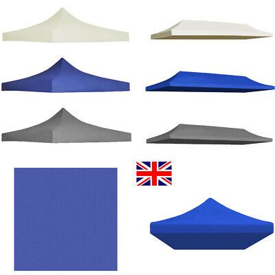Gazebo Top Cover 3x3 6 M Waterproof Marquee Canopy Party Tent Roof Replacement Ebay In 2020 Party Tent Tent Groundsheet