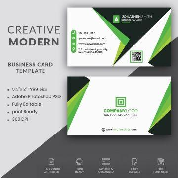 Modern Professional Business Card Modern Business Cards Professional Business Cards Business Cards
