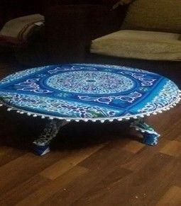 ورشة شوب طبليه بلاستيك بقماش خياميه Home Decor Decor Table