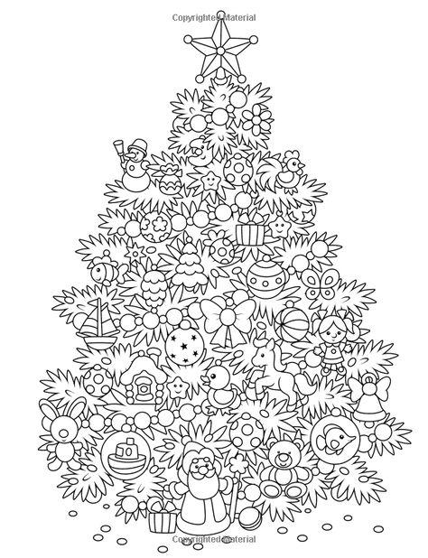 ausmalbild weihnachtsbaum f erwachsene   aiquruguay