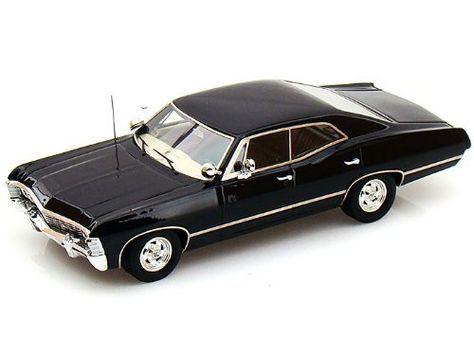 Ideal  CHEVROLET IMPALA DOOR SPORT SEDAN SUPERNATURAL TSM MODEL CAR BLACK by TVMERCH http amazon dp BAPANMU ref udcm sw r pi dp rJ u