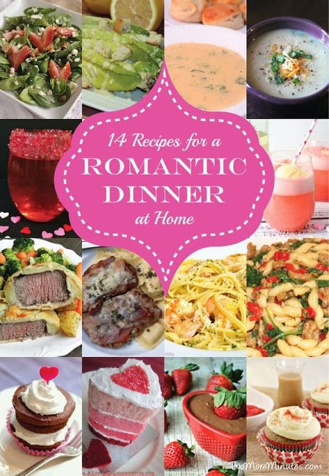 14 recipes for a romantic dinner at home party pinterest