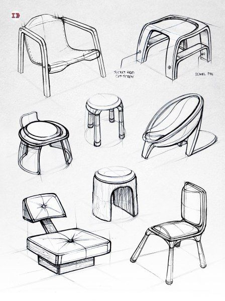 460 best black white sketches images on pinterest product design various chair sketches design sketchbook ii on behance matt seibert sciox Image collections