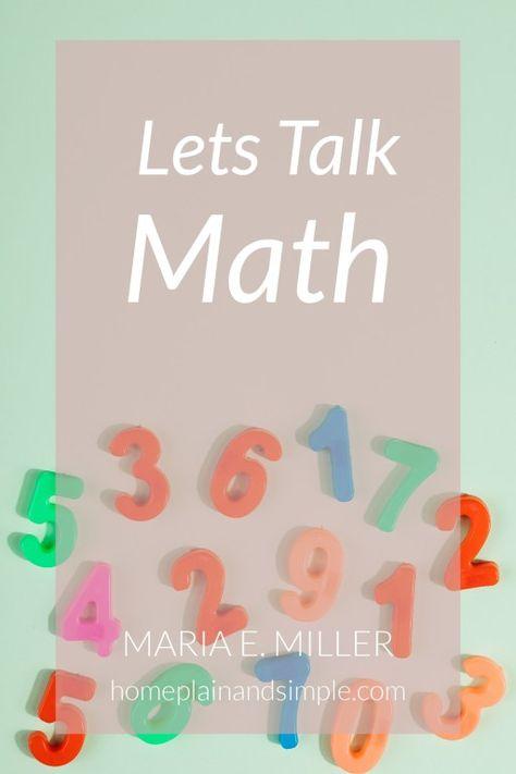Let's talk Math!