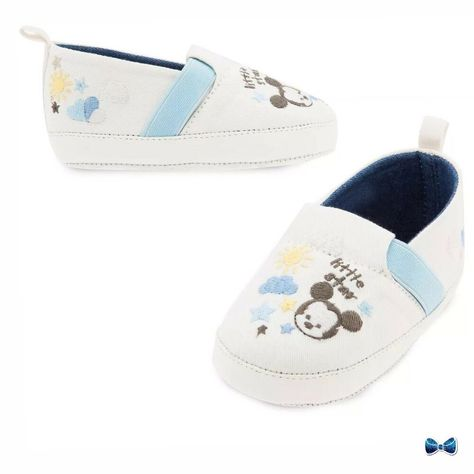Disney Store Ariel and Flounder Size 18-24 Months Shoes for Baby NWT