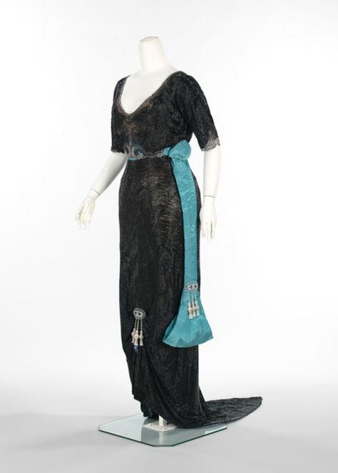 Georges Doeuillet evening dress ca. 1910-1913