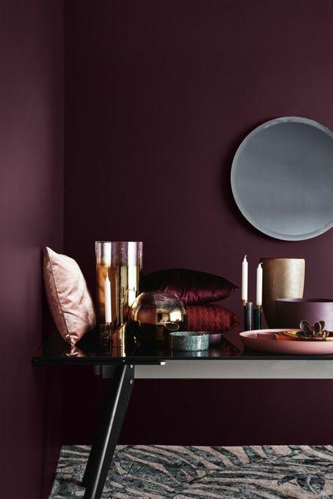 ▷ 1001 + idées comment combiner la couleur aubergine | Aubergine ...