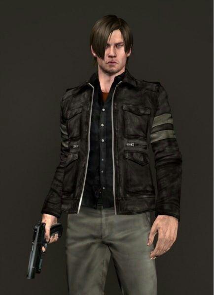 Resident Evil 6 Leon Scott Kennedy Cosplay Male Long Sleeve
