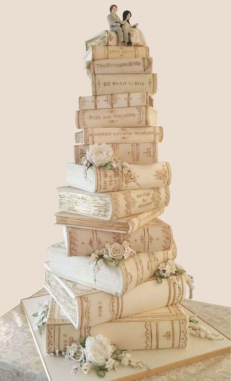 Creative Wedding Cakes, Wedding Cake Designs, Creative Cakes, Best Wedding Cakes, Funny Wedding Cakes, Themed Wedding Cakes, Amazing Wedding Cakes, Themed Cakes, Pretty Cakes