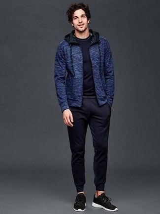 Pin On Blue Hoodie Outfits