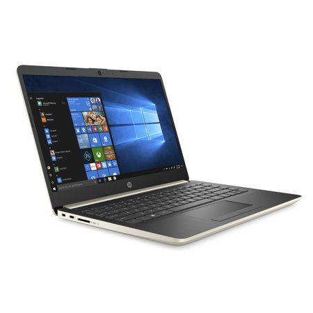 Walmart Hp 14 Slim Laptop 14 Hd Display Ryzen 3 3200u Amd Radeon Vega 3 Graphics 4gb 128gb Ssd Pale Gold Hp 17 Hp Laptop Business Laptop