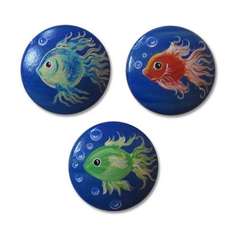 Items similar to Kids Fish Drawer Knobs Nursery Cabinet Pulls on Etsy