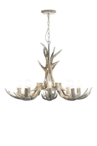 Buy antler 8 light grey washed pendant from the next uk online buy antler 8 light grey washed pendant from the next uk online shop inside my viking home pinterest antlers uk online and lights audiocablefo light catalogue