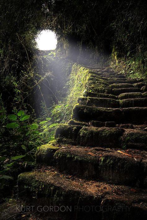 Ancient Inca Stone Staircase - Imgur