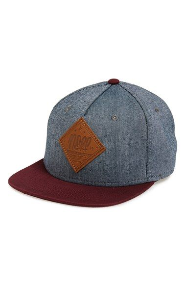 Free shipping and returns on neff 'All Day' Snapback Cap (Big Boys) at Nordstrom.com. Crisp, denim-look paneling and a faux-leather logo patch style a sporty snapback cap with versatile style.