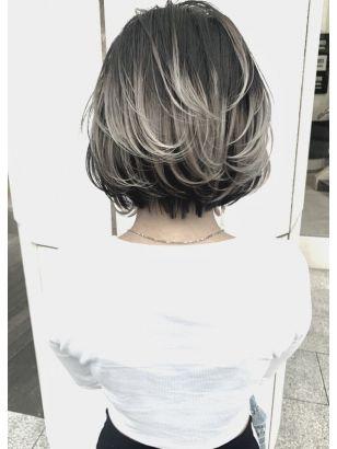 2019年春 グラデーション カラーの髪型 ヘアアレンジ 人気順 2