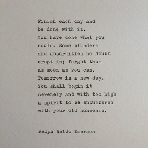 Typed on a vintage typewriter onto a 6x6 piece of cream colored cardstock.