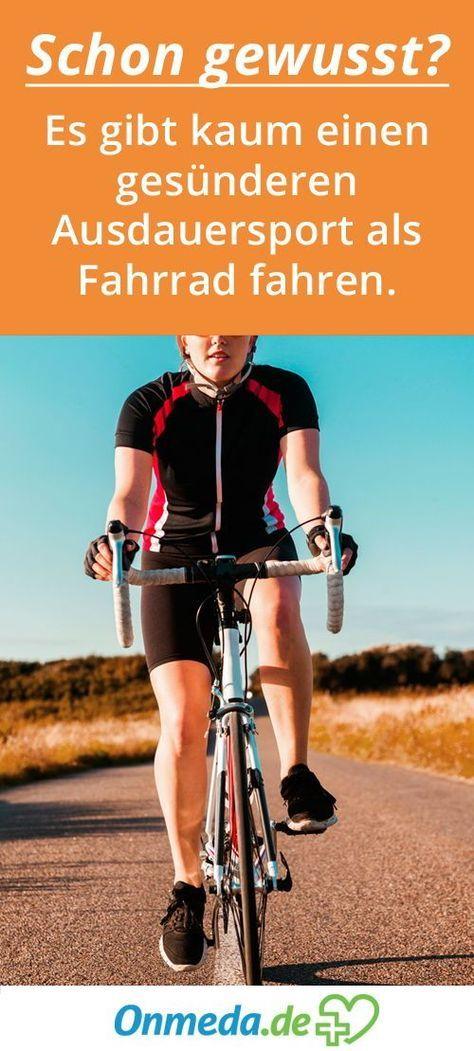 Fit Durch Radfahren Onmeda De Radfahren Rennrad Training Fahrrad Fahren