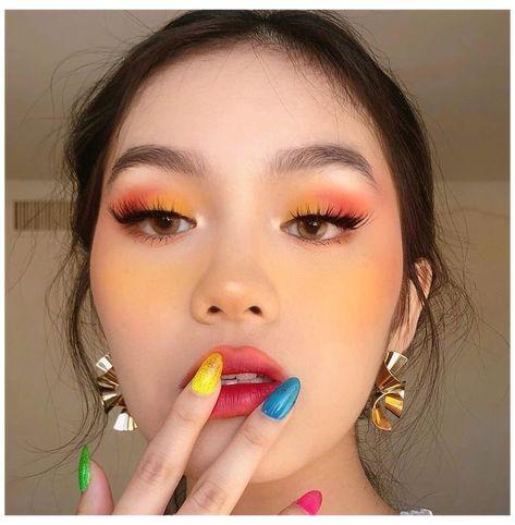 Cute Makeup Looks, Makeup Eye Looks, Gorgeous Makeup, Easy Eye Makeup, Summer Makeup Looks, Spring Makeup, Eyeshadow Styles, Eyeshadow Makeup, Eyeshadow Tips