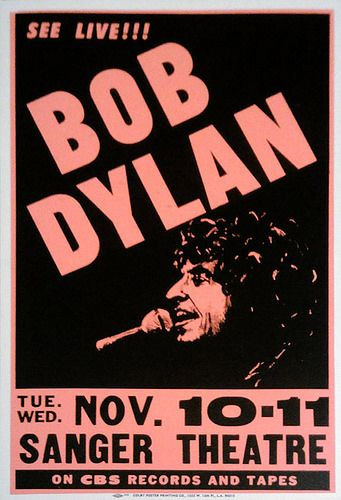Bob Dylan, 11/11/81, Saenger Performing Arts Center, New Orleans, LO