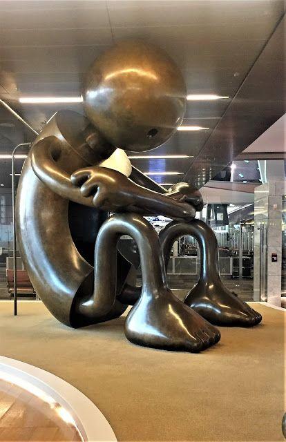 Hamad International Airport In Doha Qatar Hamad International Airport Going Home Art And Architecture