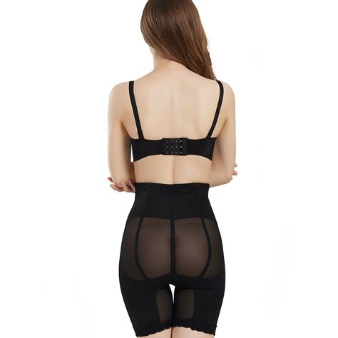 fda69f41a AICONL High Waist Seamless Thigh Slimmer For Womens Belly Trainer Shapewear  Butt Enhancer Control Panties Body Shaper -- For more information