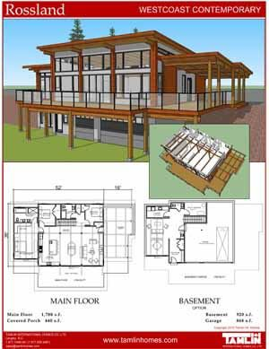 Contemporary Designs Tamlin Timber Frame Homes Modern Lake House Lake House Plans Timber Frame Homes