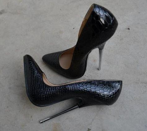 d92d1891ed03 Women s 16cm High Heel Stilettos Super Sexy Nightclub Pumps Pointed Toe  Shoes