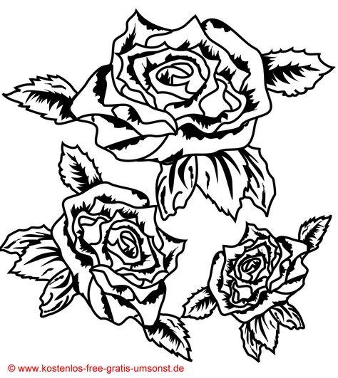 Blumen Tattoo Vorlage Rosen Tattoo Vorlage Flowers Tattoo Motive