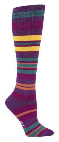 Sock It To Me Purple Haze Striped Knee High Sock Sock It To Me. $12.99