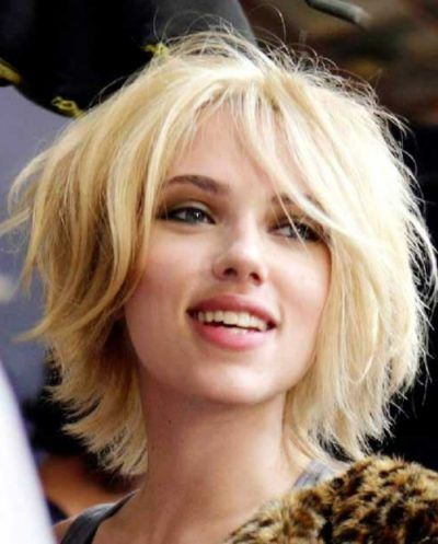 The Most Awesome Scarlett Johansson Bob Haircut With Regard To
