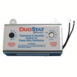 Attic Vent Humidistat Setting Attic Fan Attic Vents Thermostat