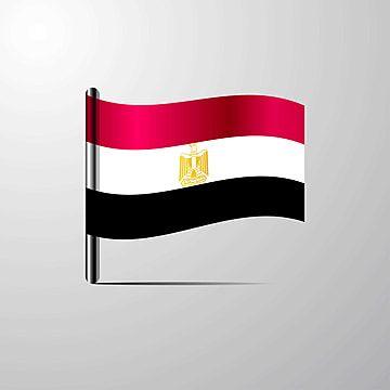 علم مصر يرفرف لامعة تصميم ناقلات 18 الثامن عشر الخلفية Png والمتجهات للتحميل مجانا Book Design Layout Book Design Layout Design
