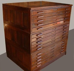 Flat File Cabinet Antique Wood Art Plan Map Blueprint Files By Hamilton How To Antique Wood Filing Cabinet Modern Woodworking Plans