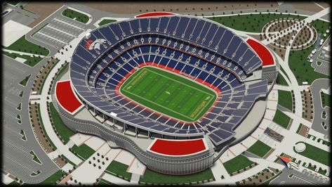 Broncos Seating Chart With Rows
