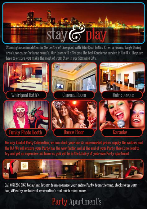 Party Apartments Liverpool