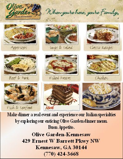 olive garden catering menu with prices