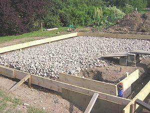 Plan Pour Construire Un Abri 1 Pente Dalle Beton Beton