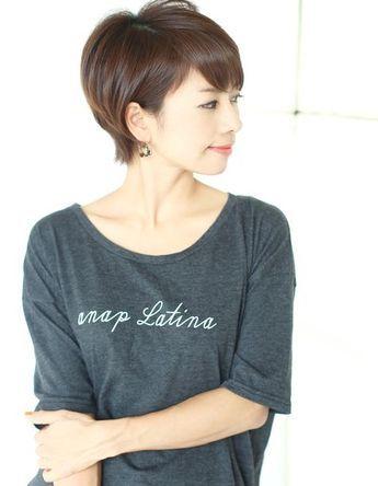 吉瀬美智子さん風ショート Nb 068 ヘアカタログ 髪型 ヘア