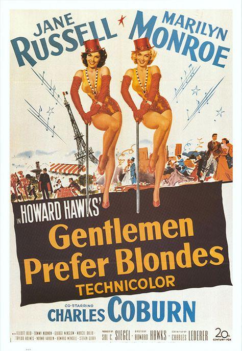 Gentlemen Prefer Blondes (1953) - Dollars BBS   Films
