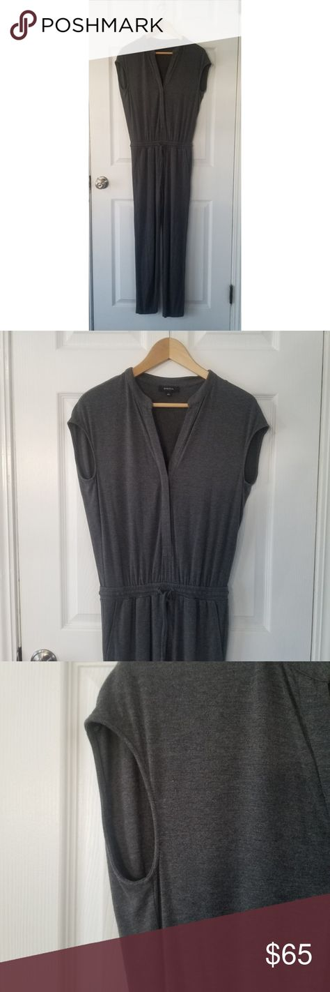 a216c0234578 Aritzia Babaton Soft Jumpsuit in Gray Super soft and comfortable capsleeve