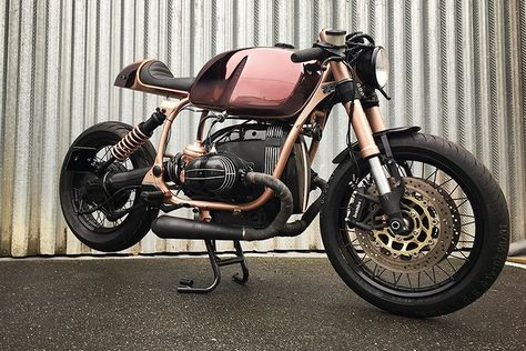 Copper is the New Black: BMW R100 R Copper Café Racer | Man of Many